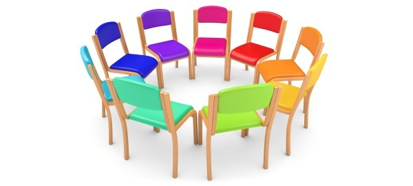 Photo-of-colorful-chairs-in-a-circle