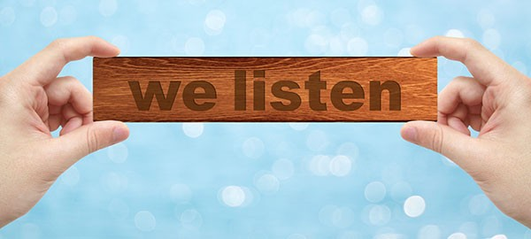 we listen to your way of being