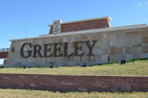Greeley city sign
