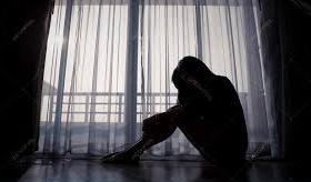 depressed female